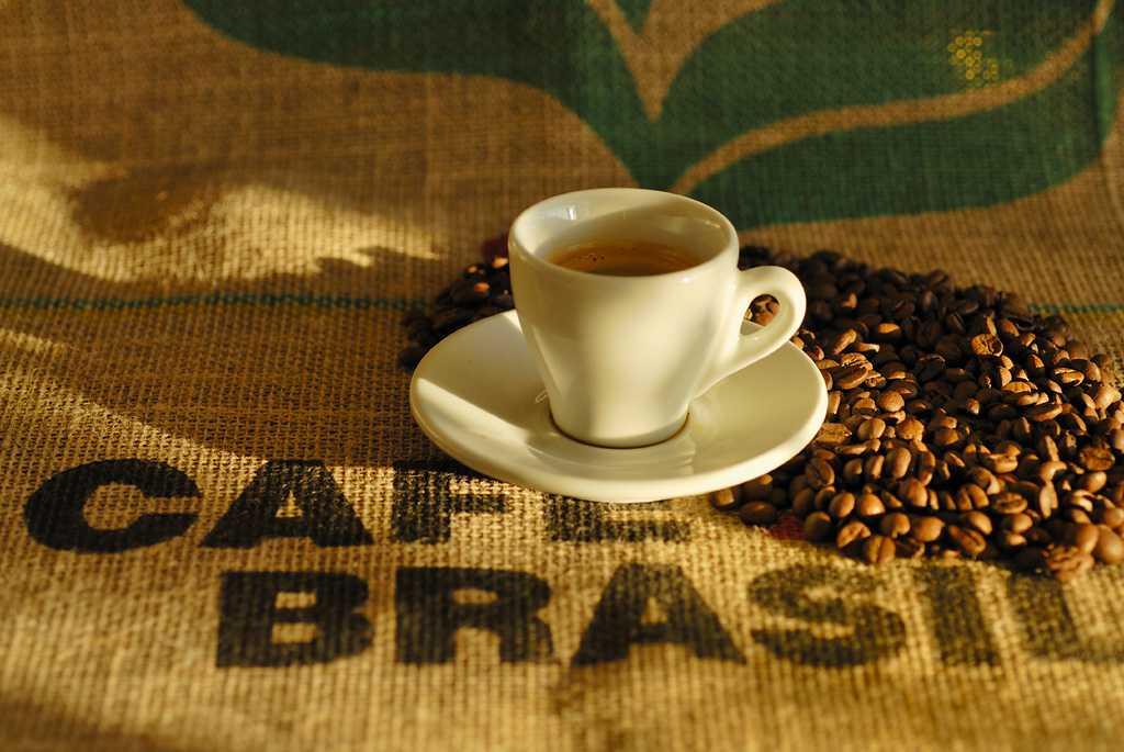 в бразилии погибло кофе