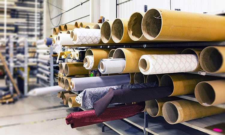 Доставка тканей из Италии в Россию