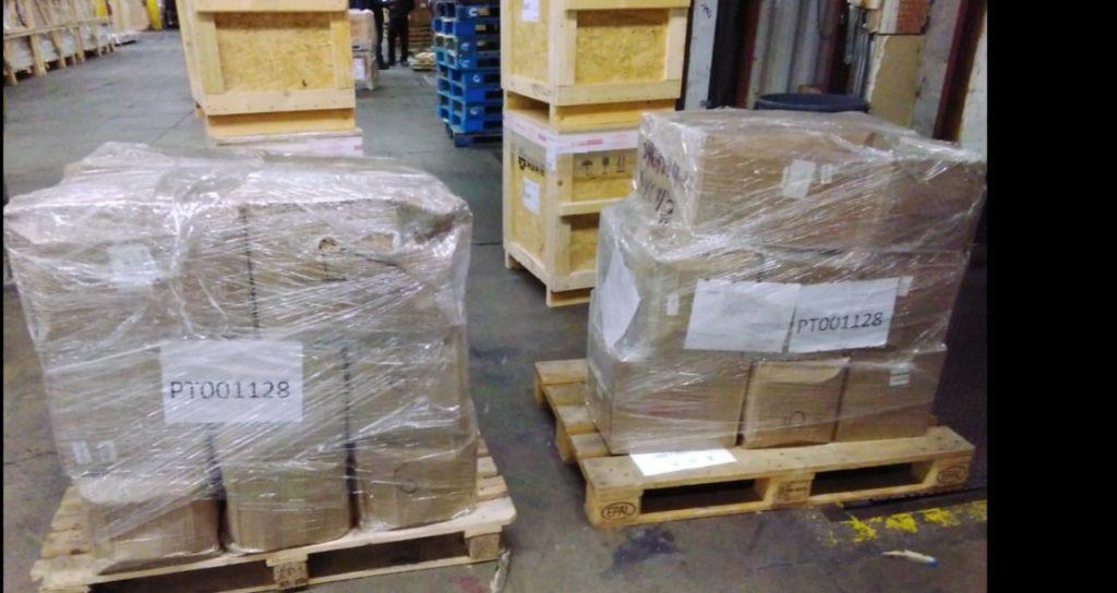 Доставка 2 паллетов на фулфилмент склад в США